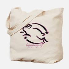 Leaping Bunny Outline (Tote Bag)