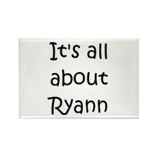 Cool Ryann Rectangle Magnet