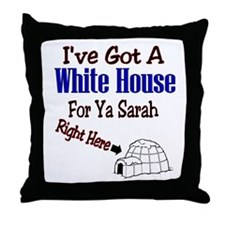 Funny I see russia Throw Pillow