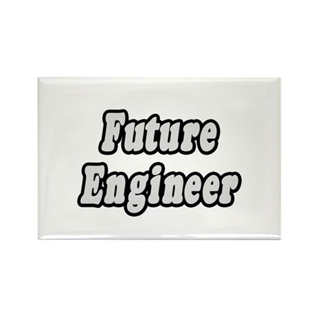 """Future Engineer"" Rectangle Magnet"