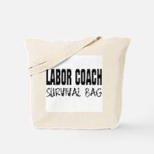 Labor Coach Hospital Survival Tote Bag