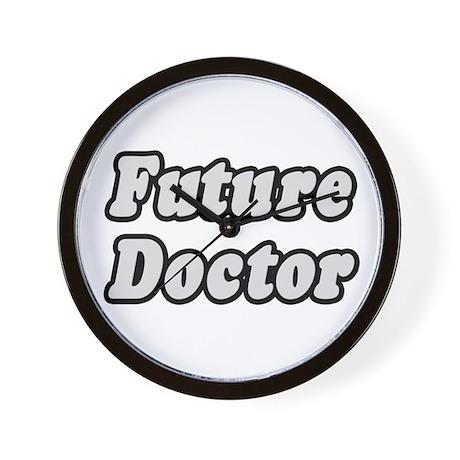 """Future Doctor"" Wall Clock"