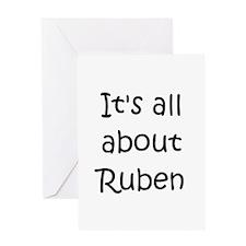 Funny Ruben name Greeting Card