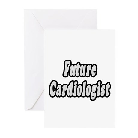 """""""Future Cardiologist"""" Greeting Cards (Pk of 10)"""