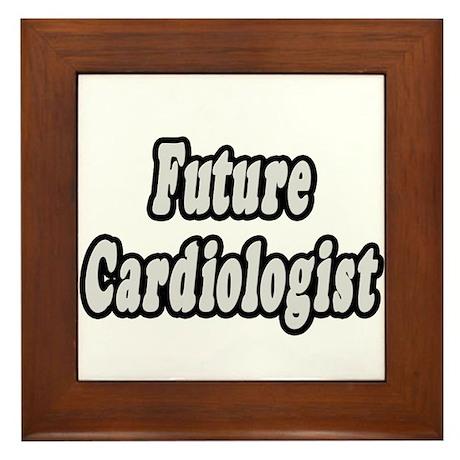 """""""Future Cardiologist"""" Framed Tile"""