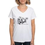 Easter Island Rocks Women's V-Neck T-Shirt