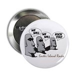 """Easter Island Rocks 2.25"""" Button (100 pack)"""