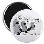 """Easter Island Rocks 2.25"""" Magnet (10 pack)"""