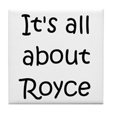 Cute Royce Tile Coaster