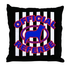 OFFICIAL REFEREE Throw Pillow