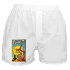 Witch & Cat Boxer Shorts