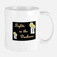 LIGHTS IN THE DARKNESS for t-shirt Mugs