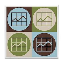 MBAing Pop Art Tile Coaster