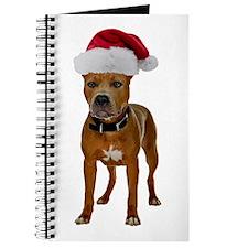 Pit Bull Christmas Journal