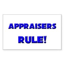 Appraisers Rule! Rectangle Decal