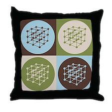 Materials Engineering Pop Art Throw Pillow