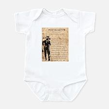 Jesse James Infant Bodysuit
