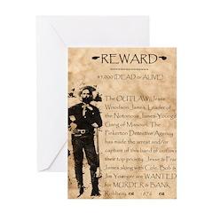 Jesse James Greeting Card
