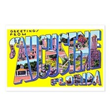 St Augustine Florida Greetings Postcards (Package