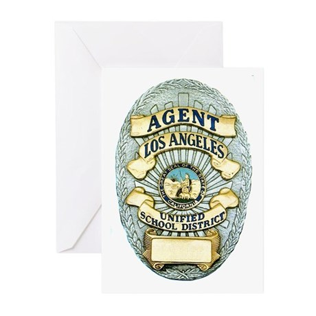 L.A. School Police Greeting Cards (Pk of 20)