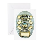 L.A. School Police Greeting Cards (Pk of 10)