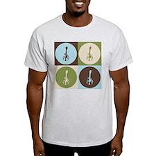Mandolin Pop Art T-Shirt