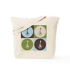 Mandolin Pop Art Tote Bag
