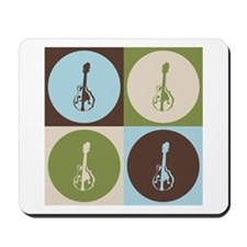Mandolin Pop Art Mousepad