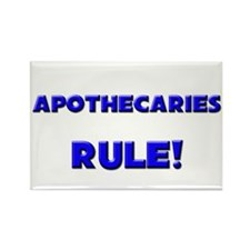 Apothecaries Rule! Rectangle Magnet