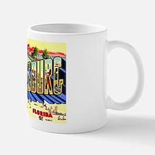St Petersburg Florida Greetings Mug