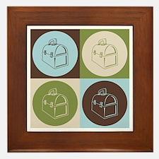 Lunchboxes Pop Art Framed Tile