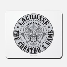 Lacrosse-The Creator's Game Mousepad