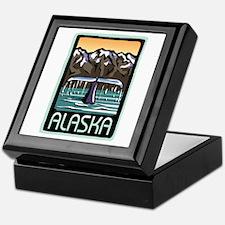 Alaska Whale Keepsake Box