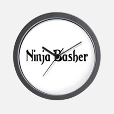 Ninja Basher Wall Clock