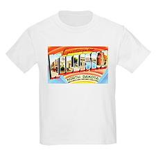 Williston North Dakota Greetings (Front) T-Shirt