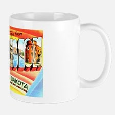Williston North Dakota Greetings Mug