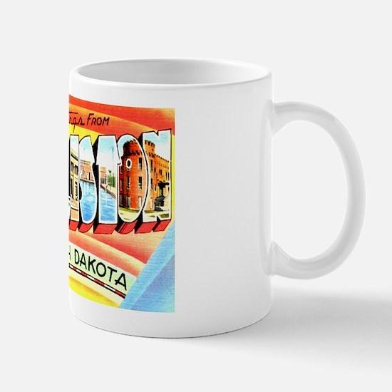Williston North Dakota Greetings Mug