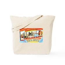Williston North Dakota Greetings Tote Bag