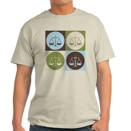 Law Pop Art Light T-Shirt