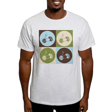 Knitting Pop Art Light T-Shirt