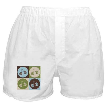 Knitting Pop Art Boxer Shorts