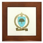 LACASSE Family Crest Framed Tile