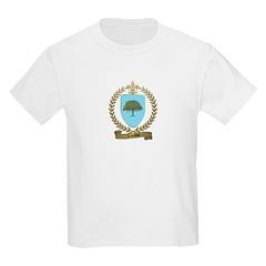 LACASSE Family Crest Kids T-Shirt