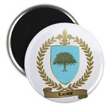 LACASSE Family Crest Magnet