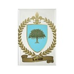 LACASSE Family Crest Rectangle Magnet