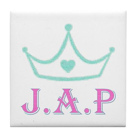 Jewish American Princess Tile Coaster