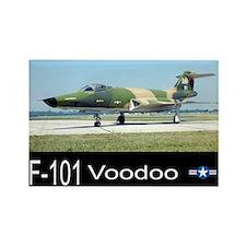 F-101 Voodoo Fighter Rectangle Magnet