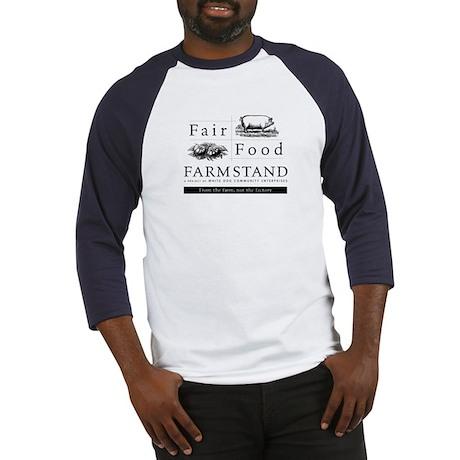 Farmstand/Wendell Berry baseball t-shirt