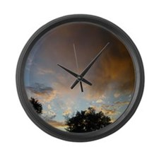 Colorado Sky Large Wall Clock
