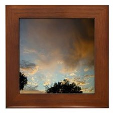 Colorado Sky Framed Tile